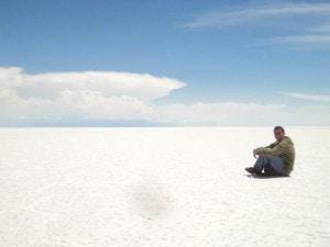 Salar de Uyuni. Sudamérica.