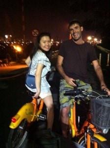 Travel Taiwan. Bicycle.
