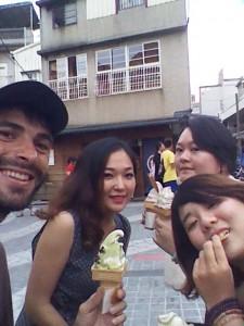 Travel Taiwan. Ice-cream