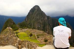 Tomislav in Machu Pichu.