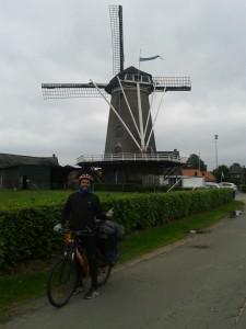 Windmill. Visiting Netherland.