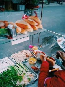 streeet food in South East Asia.