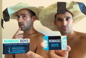 Stefan and Sebastien from Nomadic boys