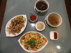 vegetarian restaurant backpacking Malaysia