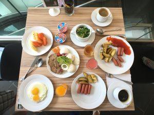 Great breakfast backpacking Malaysia