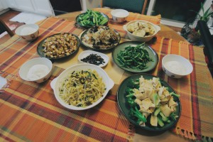 Vegetarian dishes are also a popular alternative to other delicious Chinese New Year dishes, since Chinese believe in eating vegetables for cleansing yourself for the coming year.