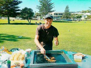 Barbecue travel Perth.