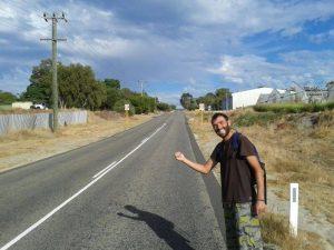 travel Perth hitchhiking