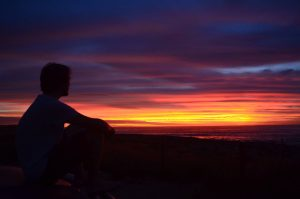 Jamie sunset.
