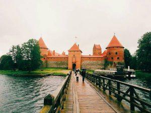 Trakai in the Baltic countries.