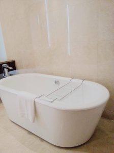 Bathtub at Nassima Royal Hotel.