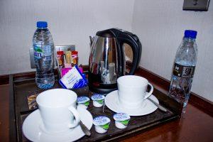 Complimentary things at Nassima Royal Hotel.