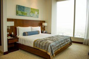 Room at Nassima Royal Hotel.
