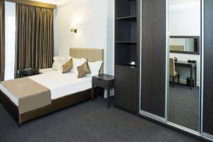 Room at Ambassador Hotel.