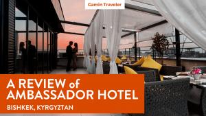 The Ambassador Hotel is the top most luxurious hotel in Bishkek, Kyrgyztan.