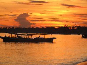 Sunset in Belitung