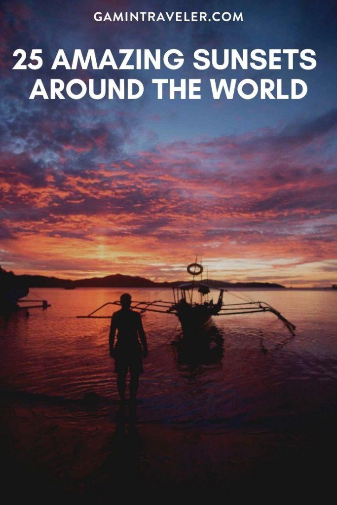 25 Amazing Sunsets Around the world