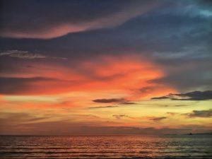 Sunset at Thailand Beaches