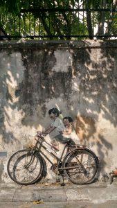 Street art in historical Penang
