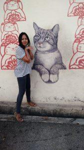 Armenian street visiting historical Penang