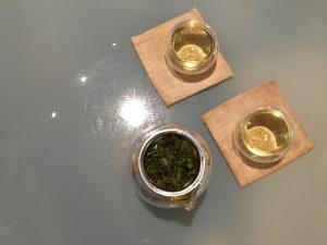 visit Melaka: having tea