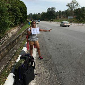 Visit Melaka: hitchhiking