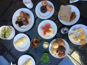 Buffet breakfast historical Penang