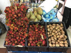 Fruits visiting historical Penang
