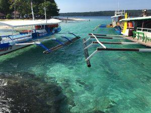 Island hopping visit Samal Island