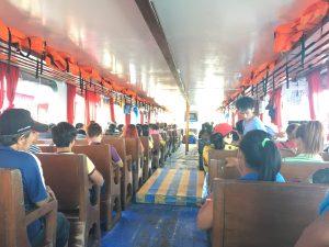 getting by boat Samal Island