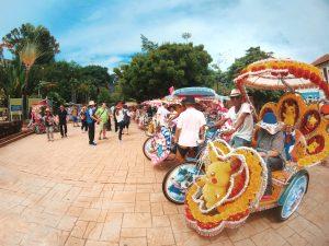 Bicycle to visit Melaka