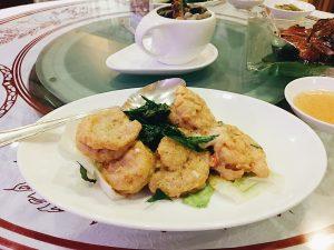 Homg Kong Style Stir Fried Prawns