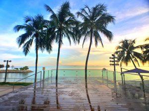 Resort in historical Penang