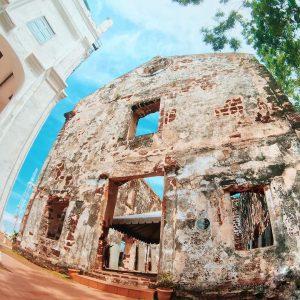 St Paul´s Church to visit Melaka