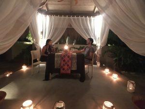 Visit Bohol: Romantic dinner