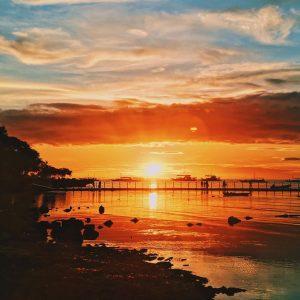 visit Bohol: watch the sunrise