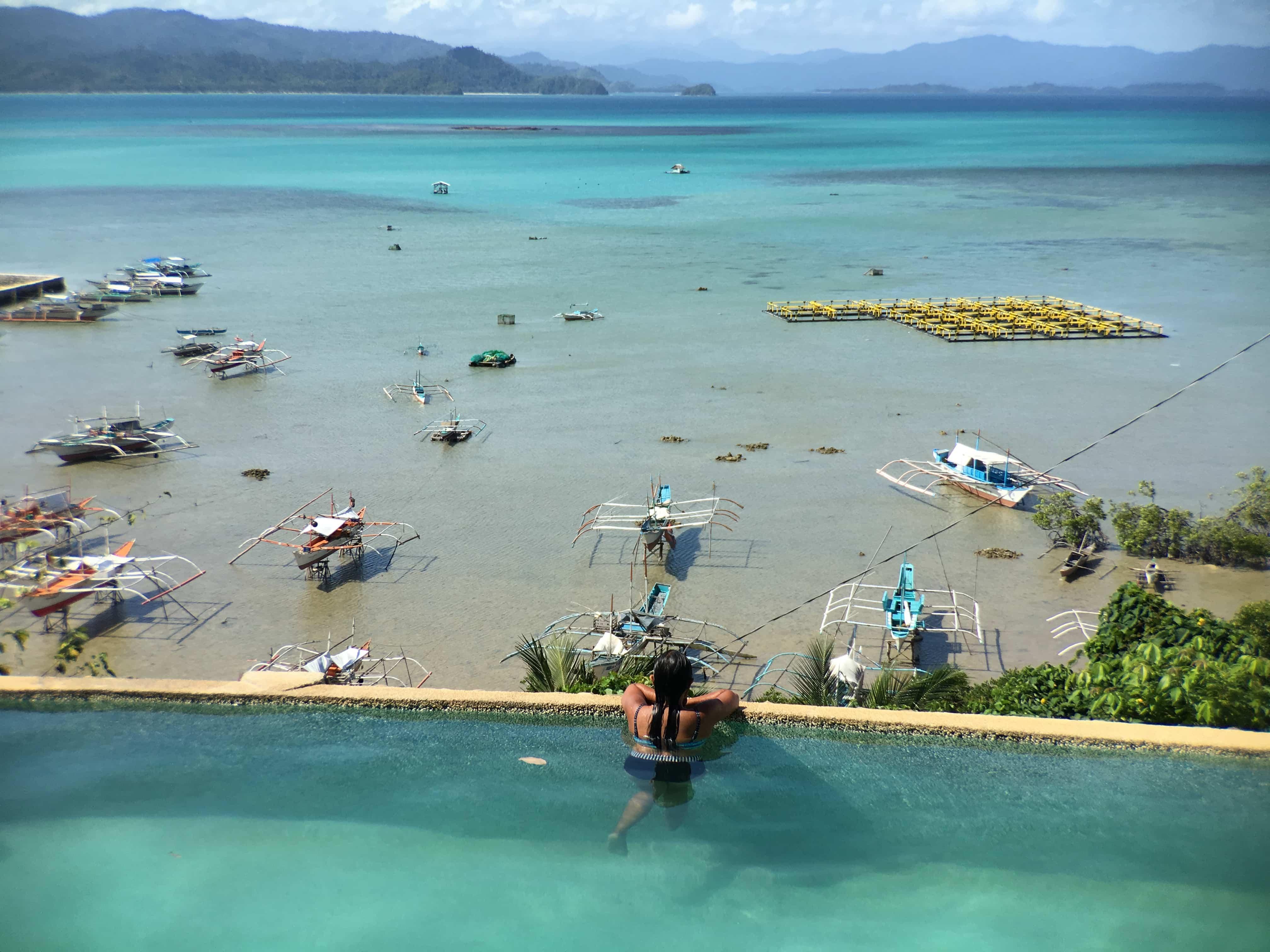 Palawan tourist spots, San Vicente