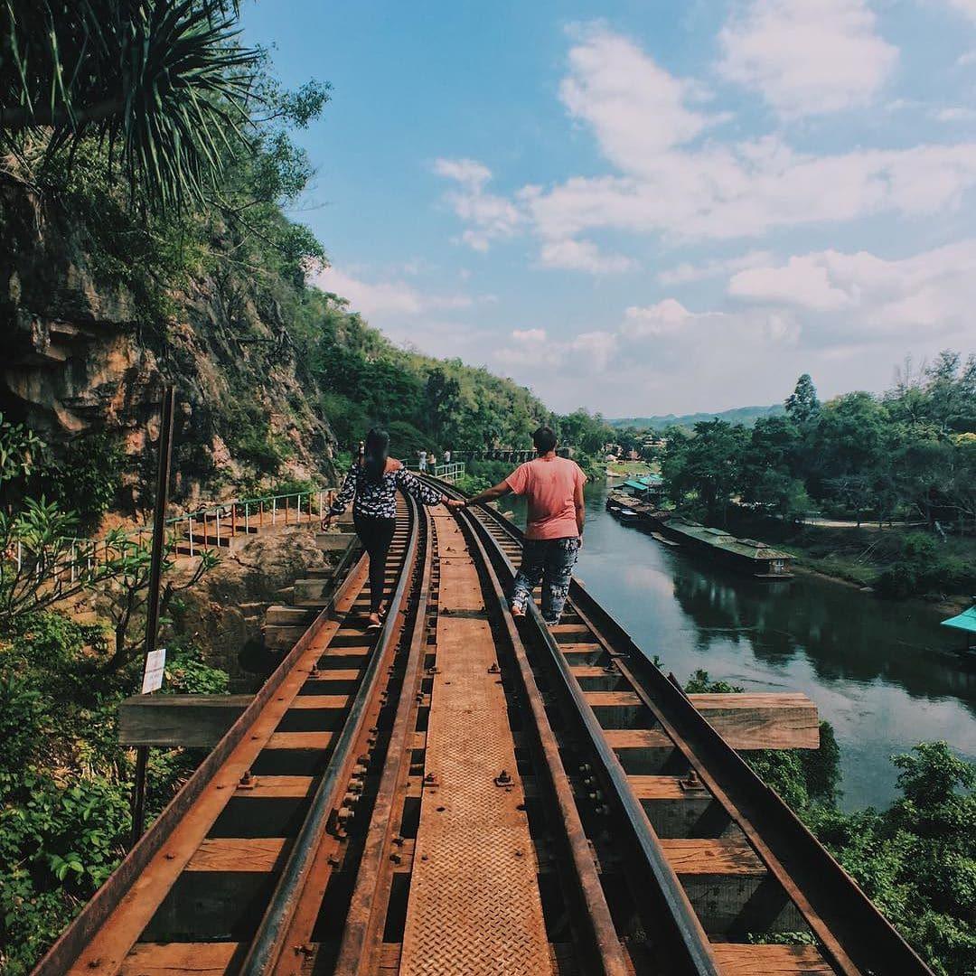 things to do in Kanchanaburi, Kwai River bridge
