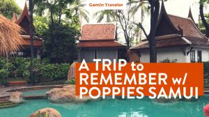Poppies Samui: A Unique Experience in Koh Samui