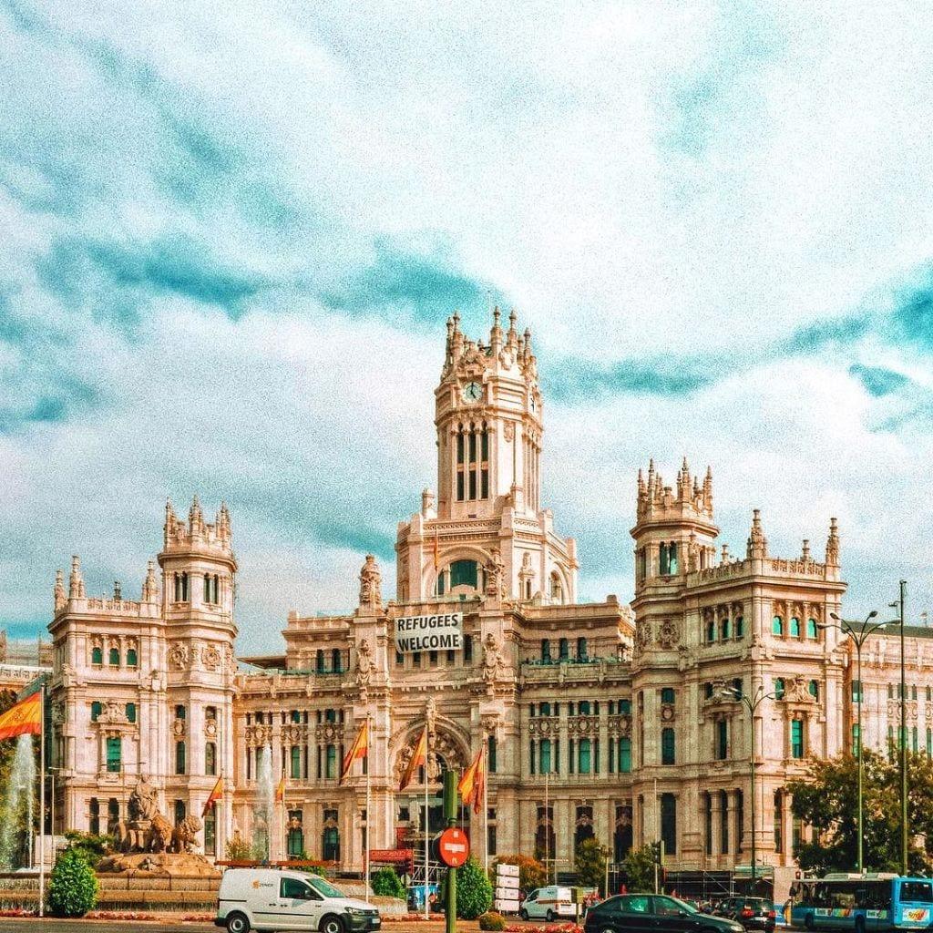 Road destiantions around Madrid
