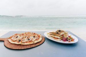 Western food in Maldives