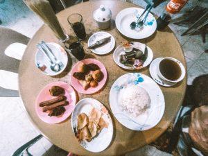 Local food in Maldives
