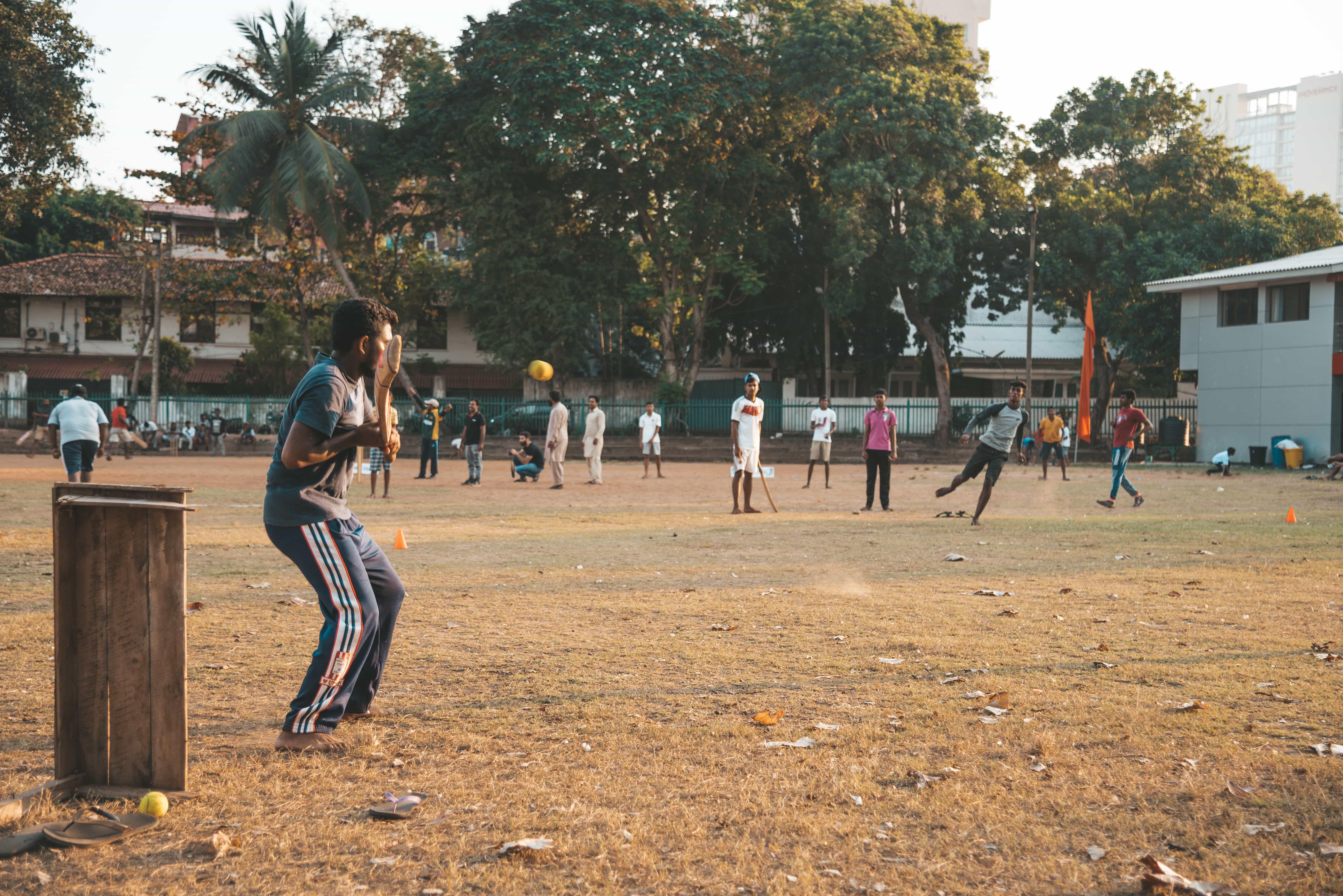 Playing cricket in Sri Lanka, things to do in Sri Lanka, Sri Lanka travel guide