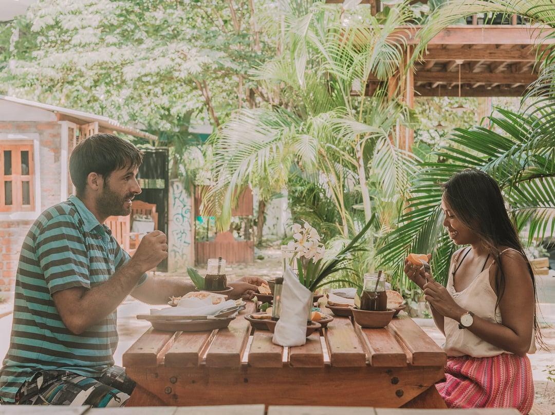 Breakfast in Sri Lanka, Papaya juice with lime