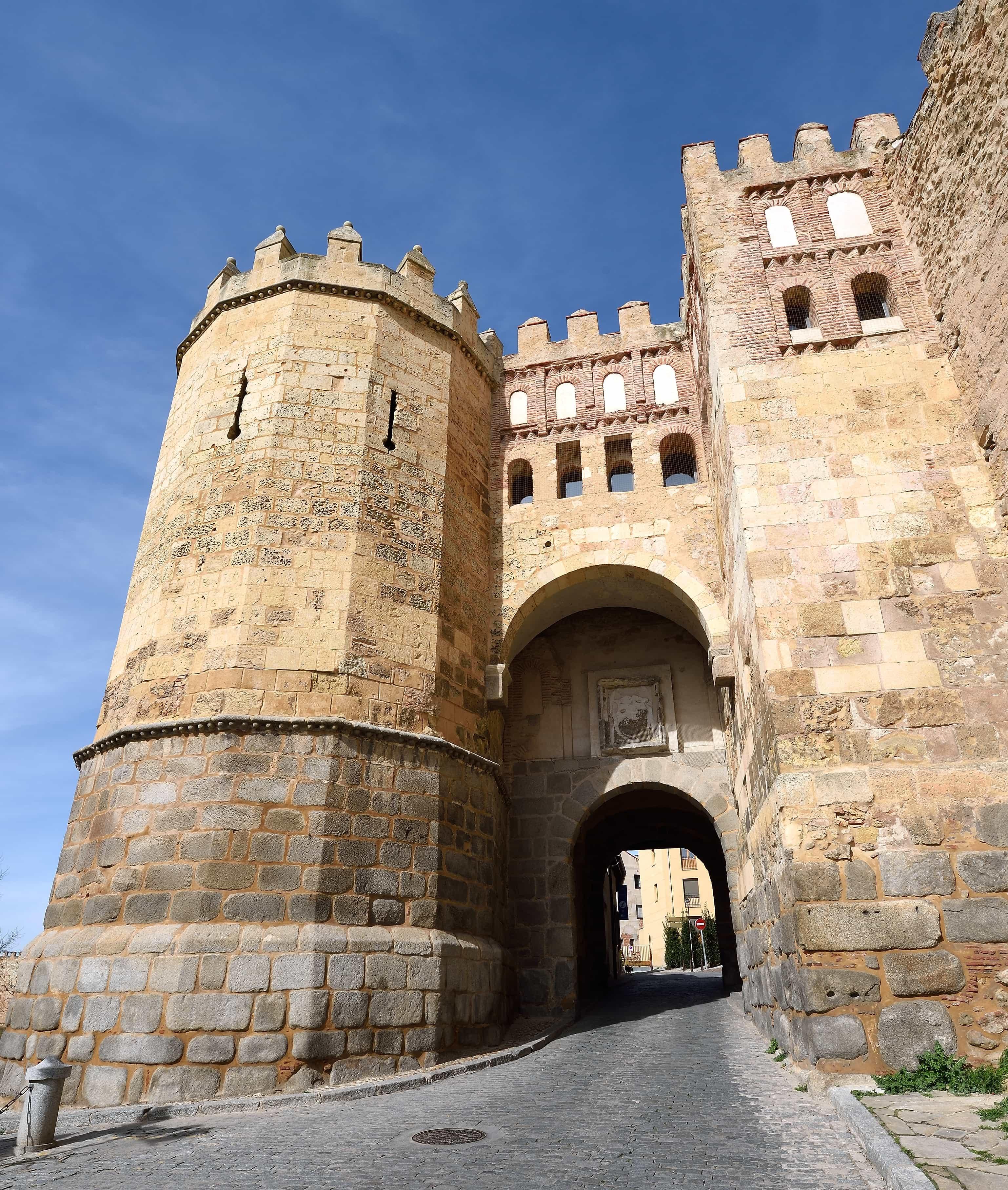 Gate of San Andres in Segovia