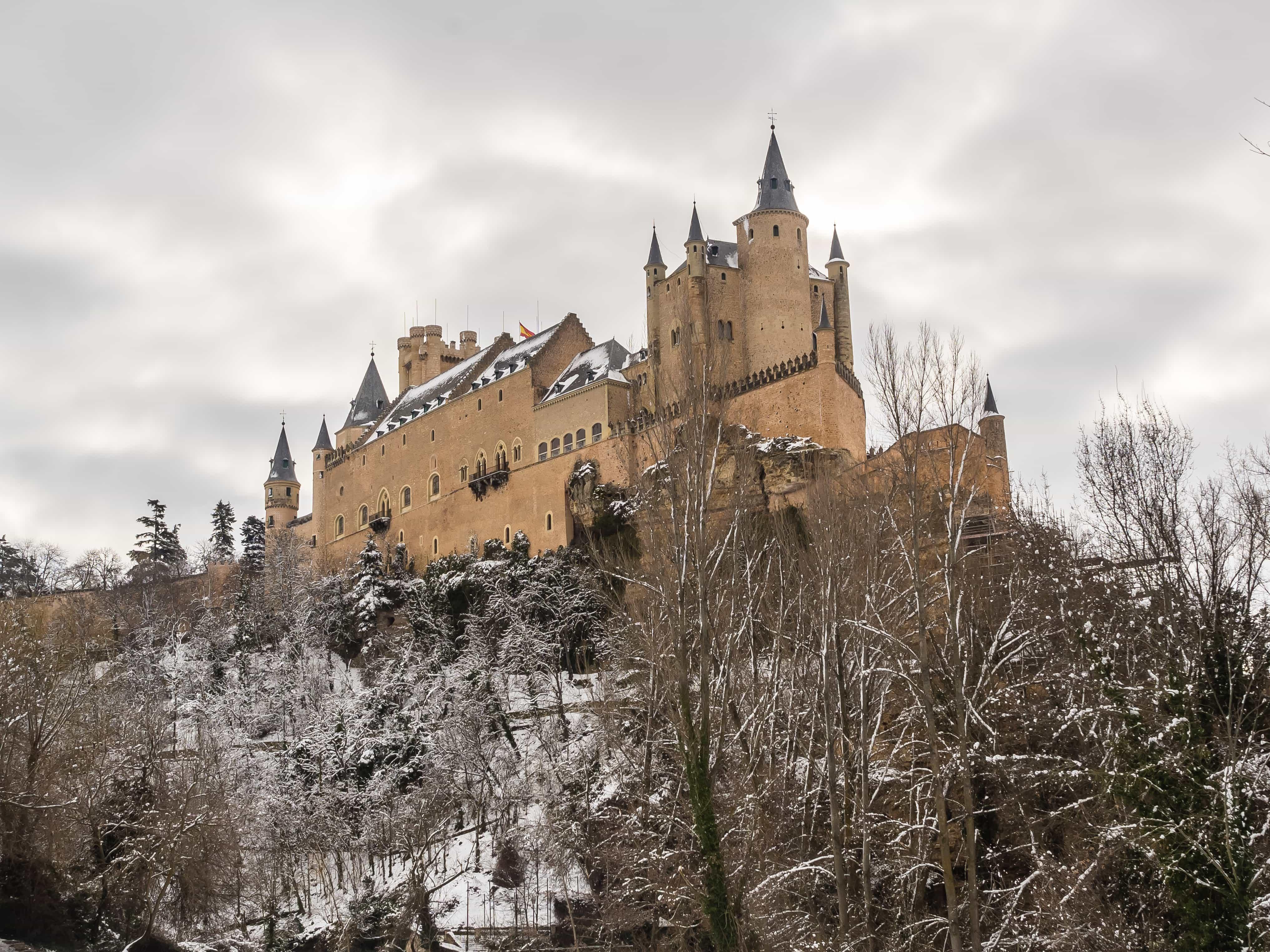 Point of view of Pradera de San Marcos, Segovia