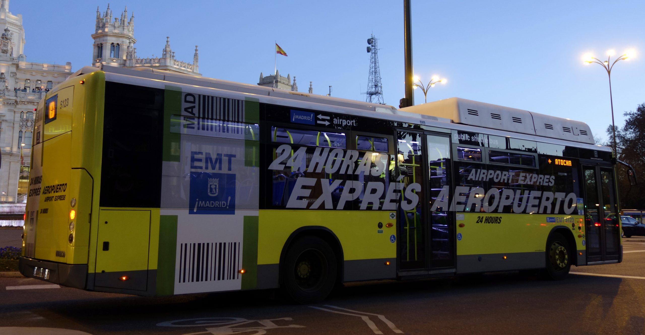Madrid Airport Bus (Madrid Airport Express Bus), madrid airport to atocha, madrid airport to atocha train station, madrid airport to atocha cheapest way
