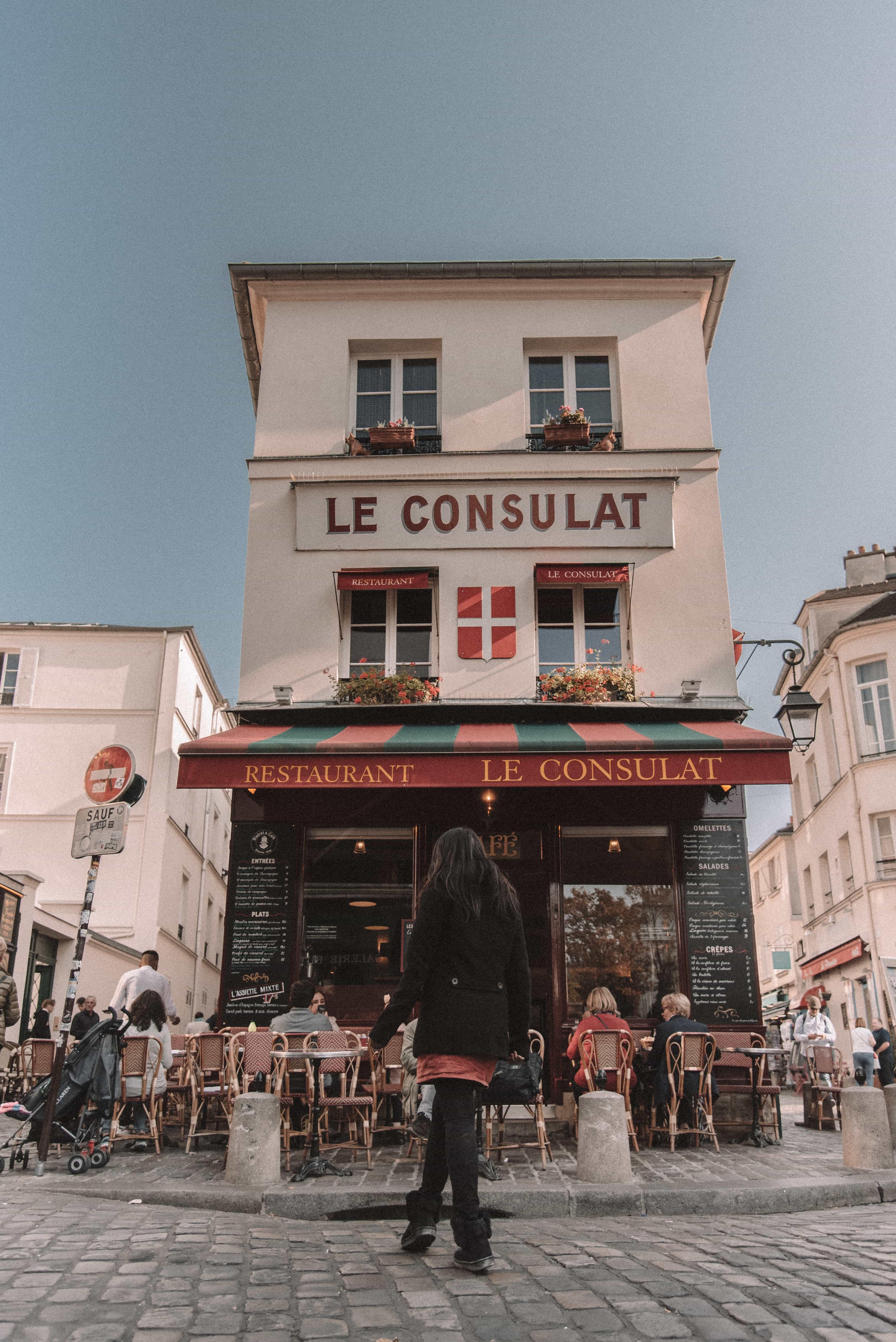 Most Instagrammable places in Paris, Montmartre