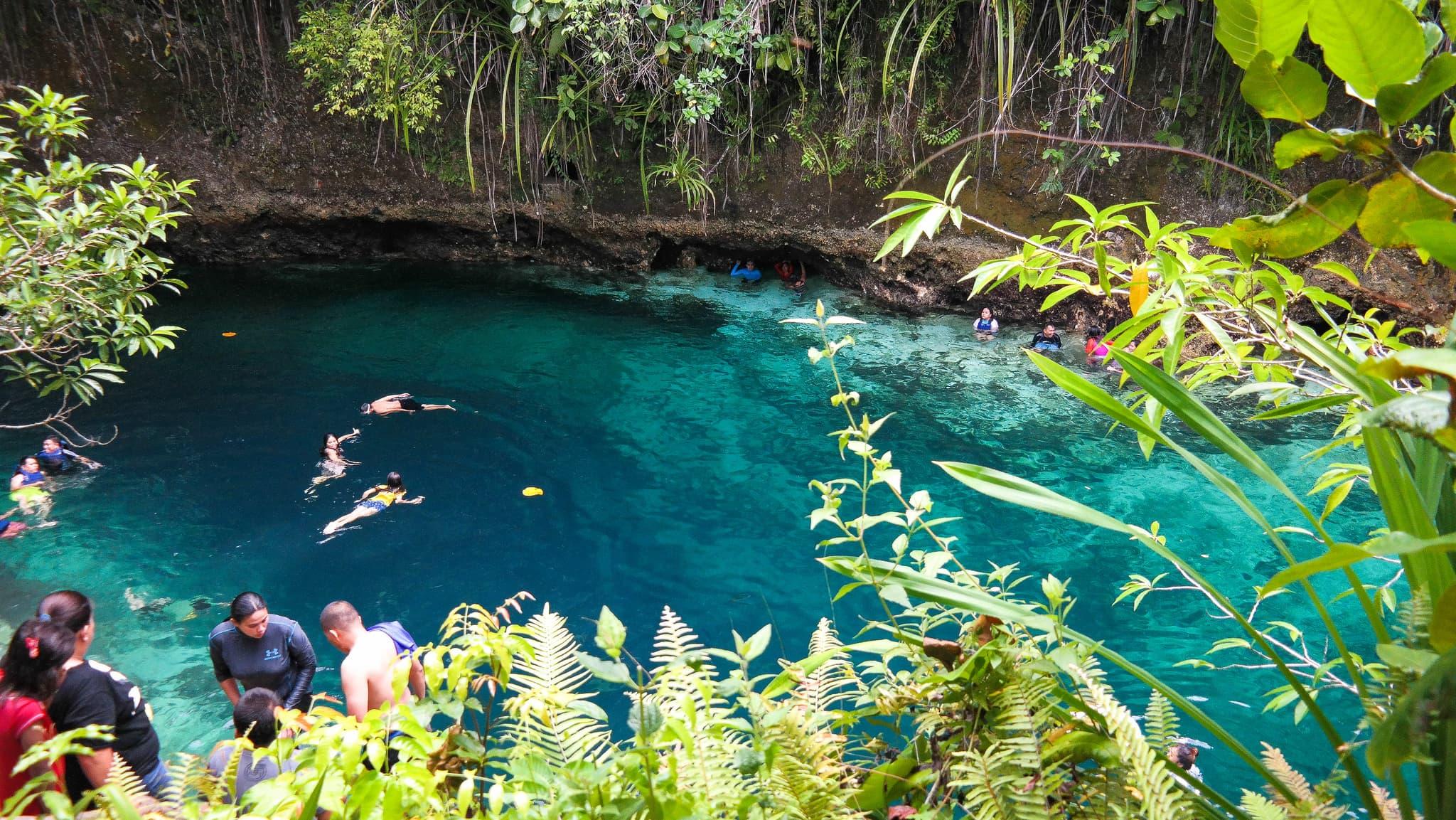 Surigao Tourist Spots, enchanted river
