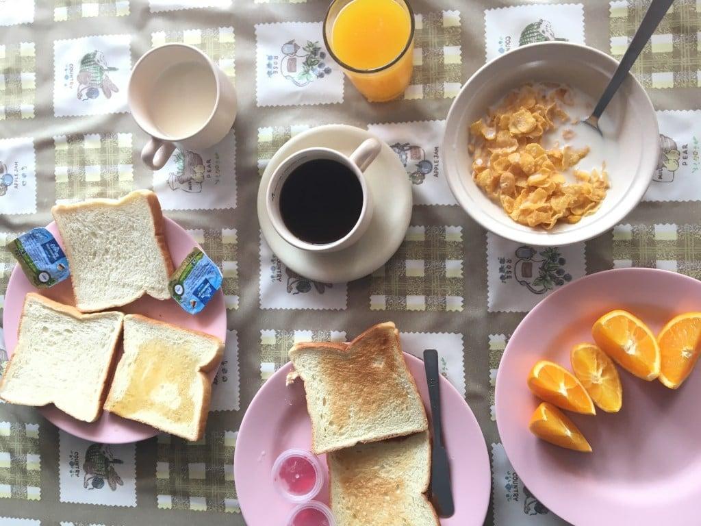 budget travel in Malaysia, food in Malaysia